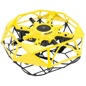 Mini Drone Volador Fly Dance Controlable con las manos: Amarillo