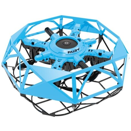 Mini Drone Volador Fly Dance Controlable con las manos: Azul