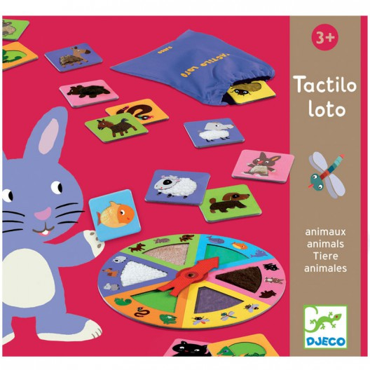 Juego educativo: Tactilo Loto Animales