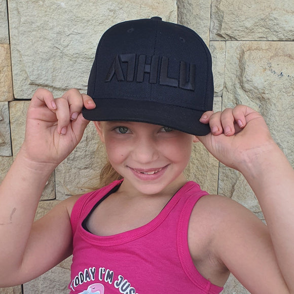 ATHLU Kiddies Flat Peak Cap