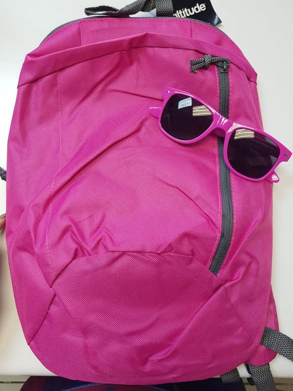 Go Backpack With Matching Sunglasses Giftset