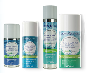 Liquid Clinic Aerosol Sanitizer Sprays
