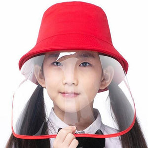 Bucket Hats with Face Shield - Toddlers