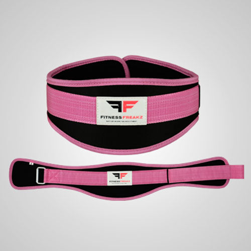 Fitness Freaks Neoprene Weight Training Belt - Pink