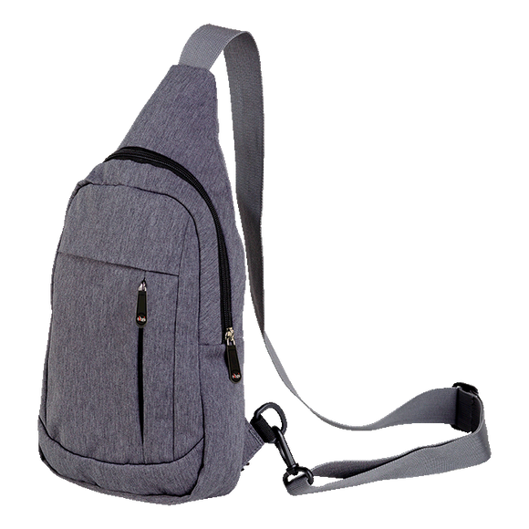 Melange Shoulder Bag With Front Pocket