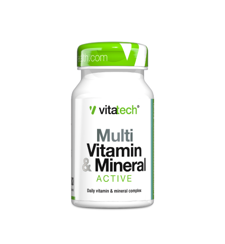 VITATECH MULTI VITAMIN & MINERAL - ACTIVE