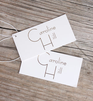 Caroline Hill Purse Tags (Pack of Five)