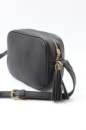 Liz Custom Collection Crossbody Bag Snake Blue Floral