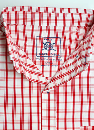 Georgia Classic Button Down XXL RED