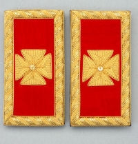 D7058 Shoulder Boards Grand Commander (PAIR) BULLION