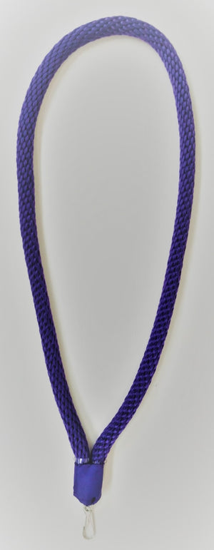 D2603 Collar Cord Purple Masonic York Rite 1/2 inch with Jewel Hanger