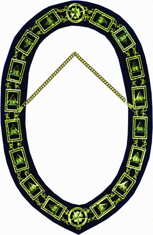 RSR9 Scottish Rite 33rd Degree Chain Collar