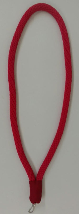 D2602 Collar Cord Red Masonic York Rite 1/2 inch with Jewel Hanger