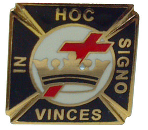 D303 Lapel Pin Commandery