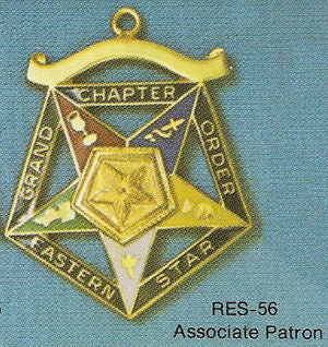 DRES-56 OES Grand Chapter Associate Patron