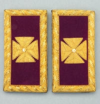 D7060 Shoulder Boards Past Grand Cmdr (PAIR) BULLION