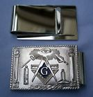 D9991 Working Tools Money Clip Silver
