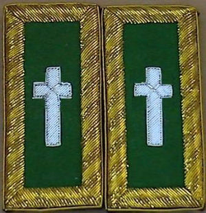 D7051 Shoulder Boards Commander (PAIR)  BULLION
