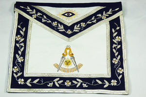 D2719 Apron Past Master (Bullion)  14 x 16  REAL LEATHER