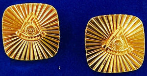 D9700PMNS Cuff Links, Past Master (No Square)