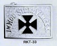 RKT33NI Belt Buckle Plate Nickel