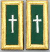 D7052 Shoulder Boards Commander (PAIR)  MYLAR