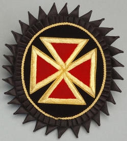 D7067 Rosette for Chapeau - Grand Commander in Mylar