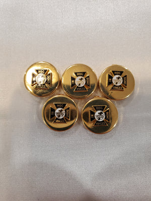 D99023 Button Covers York Rite Commandery