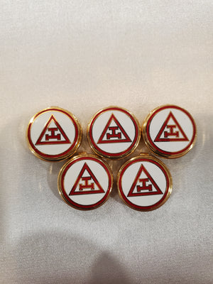 D9914 Button Covers  York Rite Chapter