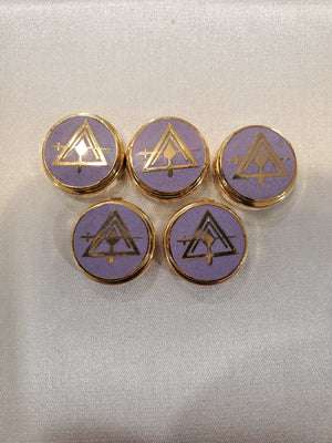 D9841 Button Cover Council York Rite