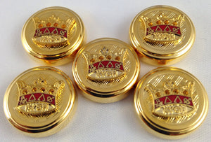 D9915 Button Cover Set KYCH Gold