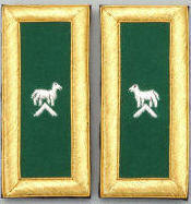 D7054 Shoulder Boards Generalissimo (PAIR) MYLAR