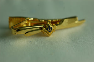 D239 Tie Bar Masonic Knife & Fork Degree with S&C