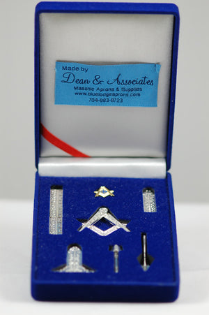 D9996 Masonic Miniature Working Tools Set (Gold Plated)