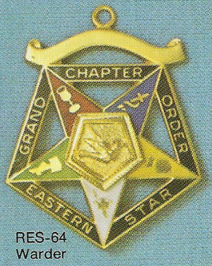 DRES-64 OES Grand Chapter Warder