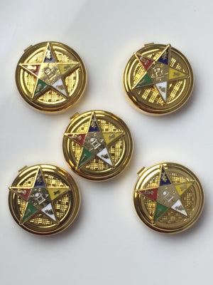D9889 Button Covers OES Order of Eastern Star