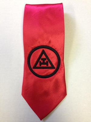 D0198 Chapter Tie Triple Tau EMBROIDERED