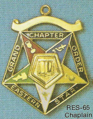 DRES-65 OES Grand Chapter Chaplain