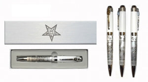 D8064 Masonic Ink Pen - Order of Eastern Star
