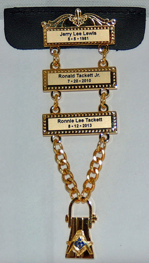 D2219 Three Bar Lewis Jewel (Call to Order)