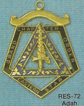 DRES-72 OES Grand Chapter Adah