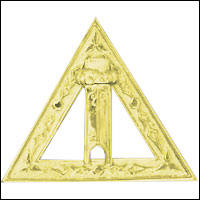 DRAC-4 Scribe Jewel Royal Arch Chapter Jewel