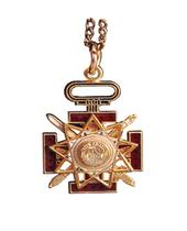 D33P 33rd Degree Pendant w/ Chain