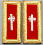 D7057 Shoulder Boards Past Commander (PAIR) MYLAR