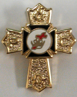 D304 Lapel Pin Knights Templar Past Commander