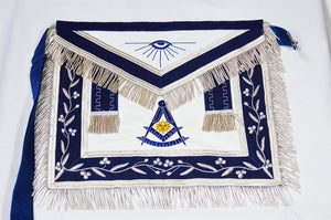 D2517 Apron Past Master (Bullion) 14 x 16 REAL LEATHER