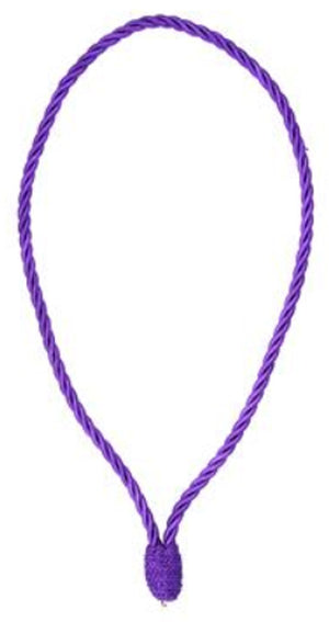 D638P Cord Collar Purple