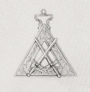 RKT9 Knights Templar Sword Bearer Jewel
