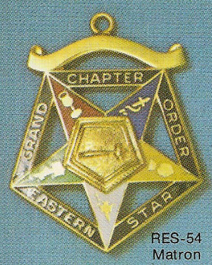 DRES-54 OES Grand Chapter Matron Jewel