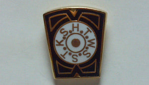 D313 Lapel Pin Chapter Keystone